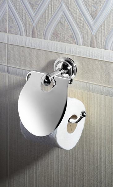 Sapho ASTOR držák toaletního papíru s krytem, chrom 1325-17