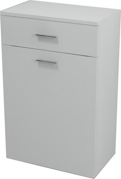 Aqualine ZOJA/KERAMIA FRESH skříňka spodní s košem 50x78x29cm, bílá 51310
