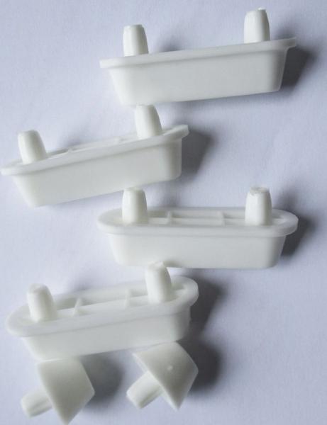 Aqualine Náhradní dosedy k WC sedátkům MDF/dřevo ND-1705-02