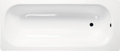 Aqualine Obdélníková smaltovaná vana 120x70x38cm, bílá V120x70