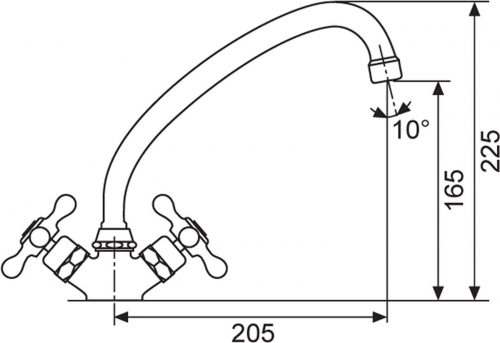 Sinks RETRO 1000 měď AVRT100ME