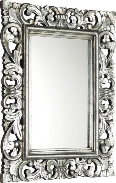 Sapho SAMBLUNG zrcadlo v rámu, 60x80cm, stříbrná IN115