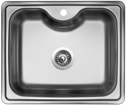 Nerezový dřez Sinks BIGGER 600 V 0,8mm matný STSBIM6005008V