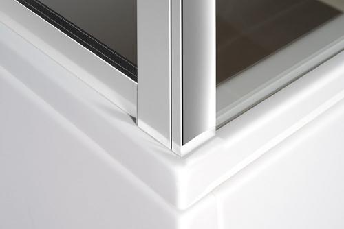 Polysan DEEP sprchové dveře posuvné 1100x1500mm, čiré sklo MD1115