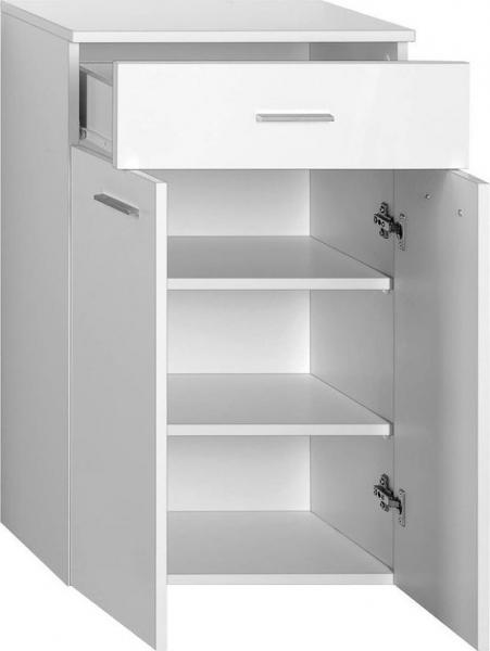 Aqualine ZOJA/KERAMIA FRESH skříňka spodní se zásuvkou 50x78x29cm, bílá 50313