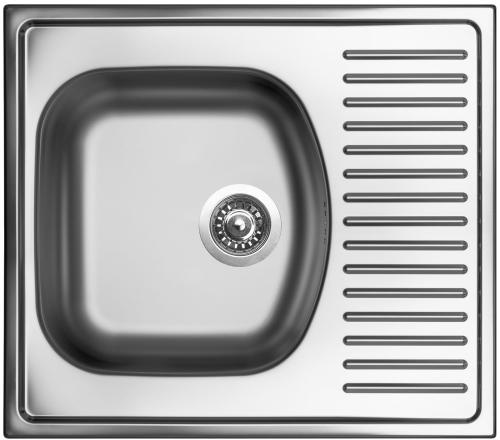 Nerezový dřez Sinks SHORT 580 V 0,5mm matný STSSHM5805105V