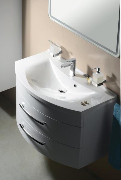 Sapho ARAS umyvadlo 90x50, 5cm, litý mramor, bílá 90911