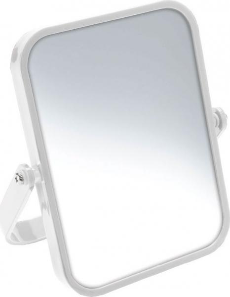 Aqualine ELENA kosmetické zrcátko na postavení, bílá CO2022