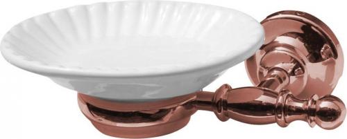 Sapho PERLA mýdlenka, keramika, růžové zlato PE1067