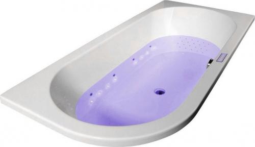 Polysan CHROMO PLANE vnitřní bodové barevné osvětlení vany, 16 RGB LED diod 91405