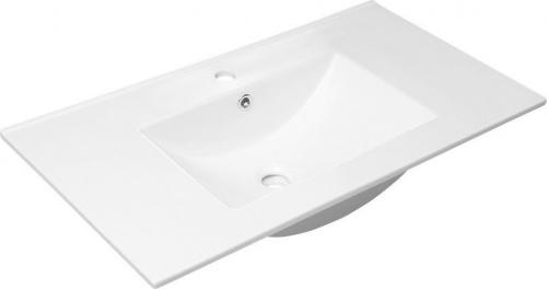 Sapho SLIM keramické umyvadlo 90x46cm, nábytkové 1601-90