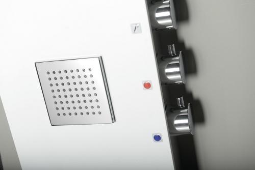 Polysan 5SIDE SQUARE sprchový panel 250x1550mm, bílá 80216