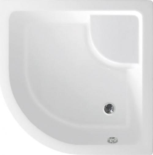 Aqualine Sprchová vanička akrylátová, čtvrtkruh 90x90x28cm včetně nožiček, R550 C93