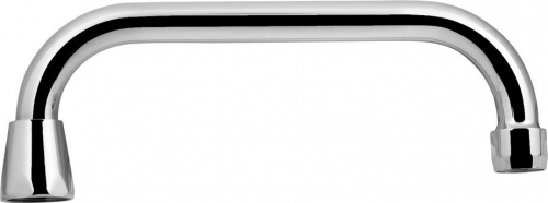 Aqualine Výtoková hubice tvar U, prům. 18mm, L 227mm, 3/4', chrom 15U200