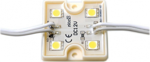 Sapho Led LED modul 4xSDM5050, 36x36x6mm, studená bílá LDM598