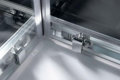 Polysan EASY LINE obdélníková sprchová zástěna 900x800mm, čiré sklo EL5315