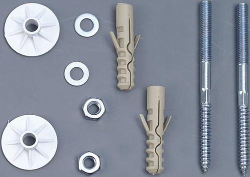 Aqualine UAK14 komplet pro kotvení umyvadel, šroub 10x120 40017