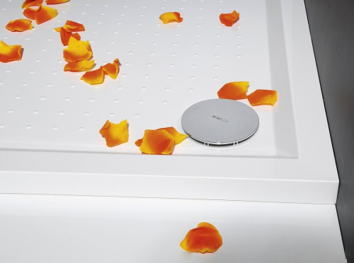 Gelco SARA sprchová vanička z litého mramoru, obdélník 100x80x4cm GS10080