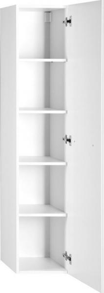 Aqualine VEGA skříňka vysoká 35x150x31cm, levá/pravá, bílá VG150