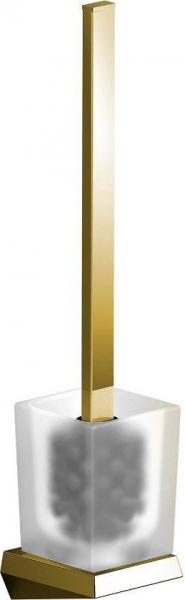Sapho SOUL nástěnná WC štětka, zlato 164974