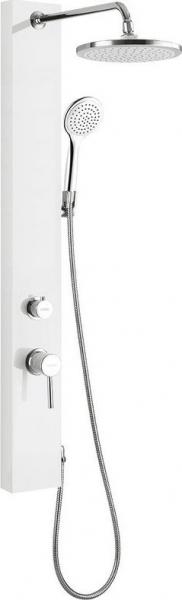 Aqualine FIGA sprchový panel, 125x1050 mm, bílá SL230