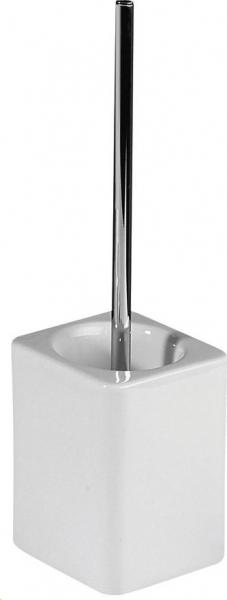 Sapho SYLVIA WC štětka na postavení, keramika/chrom 1309-28