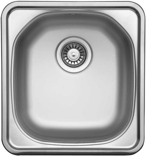 Nerezový dřez Sinks COMPACT 435 V 0,5mm matný STSCMM4354655V