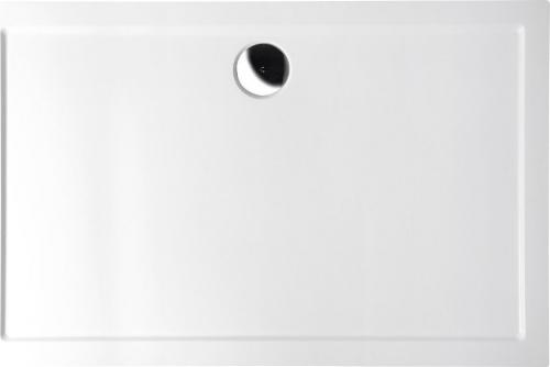Polysan KARIA sprchová vanička z litého mramoru, obdélník 100x90x4cm, bílá 51111