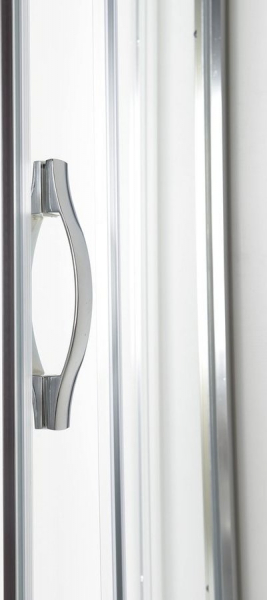 Gelco AKCE čtvrtkruhová sprchová zástěna 900x900x1900mm, sklo Brick AG4295