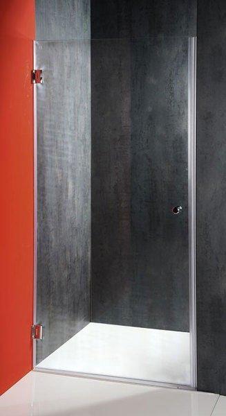 Aqualine FONTE sprchové dveře 800mm, čiré sklo 2102-01/80