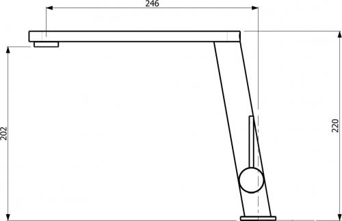 Sinks ANGOLO lesklá MP68038