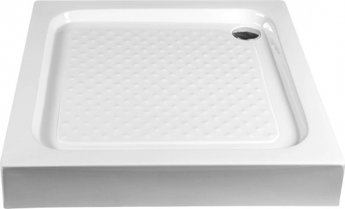 Aqualine Sprchová samonosná vanička akrylátová, čtverec 80x80x15 cm BTTQ80