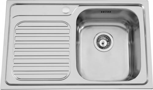 Nerezový dřez Sinks ALFA 800 V 0,7mm MP68131