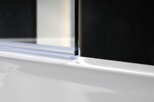 Polysan VITRA LINE vanová zástěna pevná 750mm, pravá, čiré sklo BN3815R