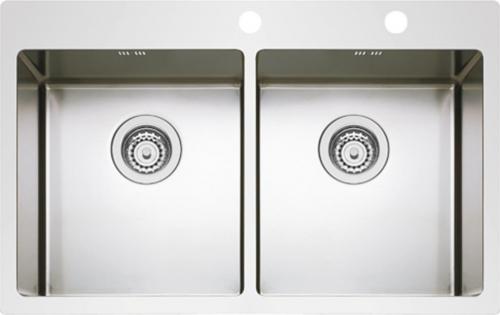 Nerezový dřez Sinks BOXER 755 DUO MP68158