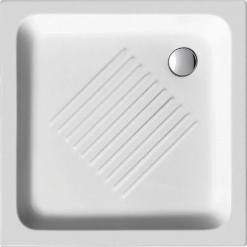 GSI Keramická sprchová vanička, čtverec 80x80x10cm 438011