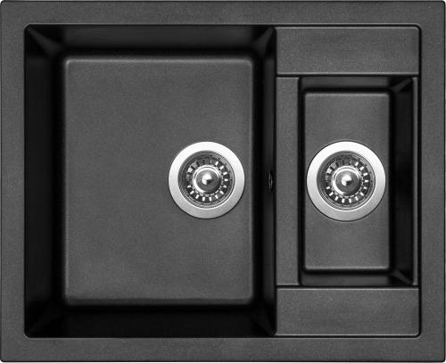 Granitový dřez Sinks CRYSTAL 615.1 Metalblack MP68277