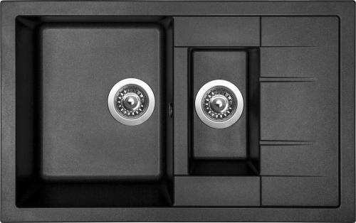 Granitový dřez Sinks CRYSTAL 780.1 Metalblack MP68279