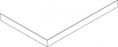 Gelco SARA panel čelní 110x90 cm, výška 10 cm, levý GP11090L
