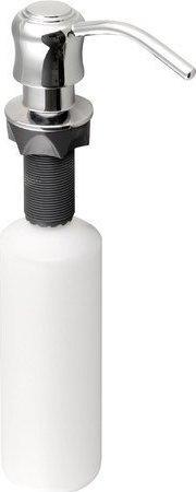 Sapho Zápustný dávkovač mýdla, retro, chrom SP002