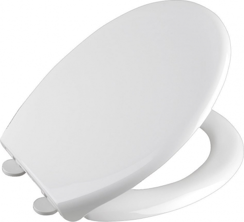 Aqualine SOFIA WC sedátko, Soft Close, bílá BS122