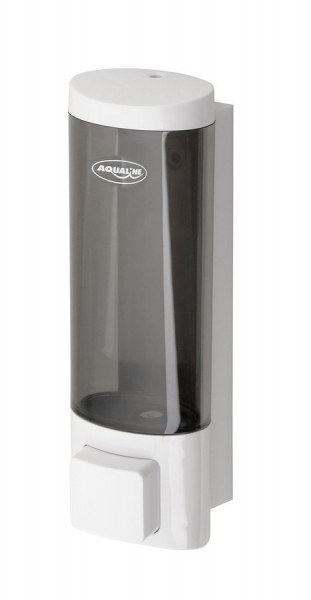 Aqualine Dávkovač tekutého mýdla na zavěšení 200ml, bílý 1319-75