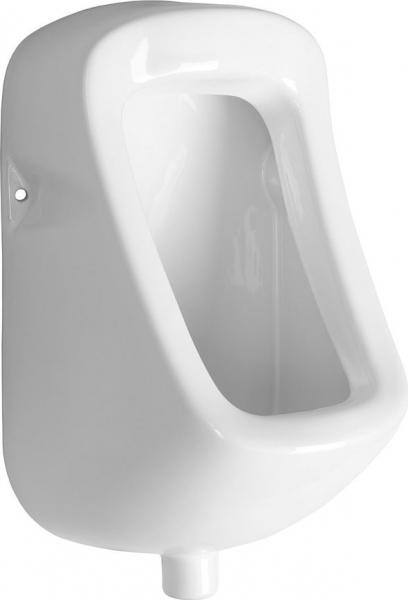 Aqualine KRUNA urinál s horním přívodem vody, 31x49, 5 cm ID400