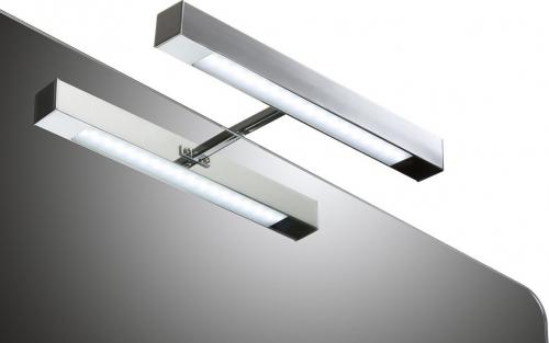 Aqualine VERONICA LED svítidlo, 6W, 300x30x115mm, chrom E26891CI