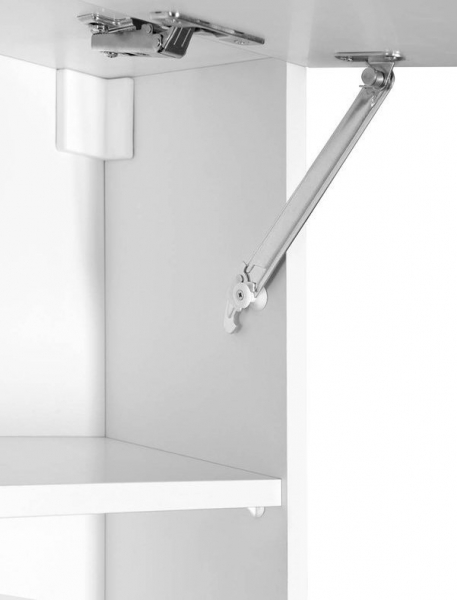 Aqualine KERAMIA FRESH horní skříňka výklopná 70x50x20cm, bílá 52360