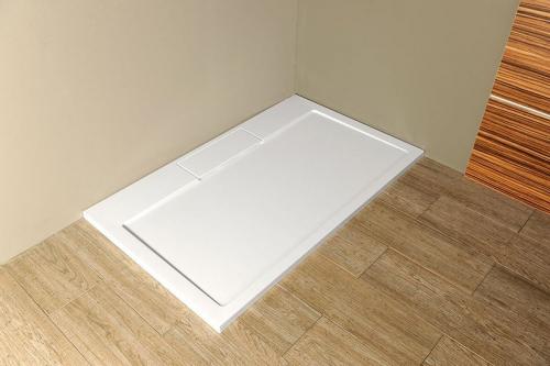 Gelco IRENA sprchová vanička z litého mramoru, obdélník 120x100x3, 5cm HI120100