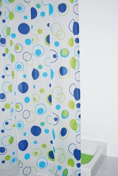 Ridder KREISE sprchový závěs 180x200cm, bez závěsných kroužků, vinyl 303080