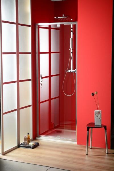 Gelco SIGMA sprchové dveře otočné 780-900 mm, čiré sklo SG1279