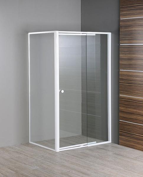 Aqualine AMICO boční stěna, sklo, pevná část, 800 mm GS80