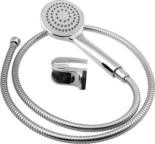 Aqualine BETTY sprchová souprava, výklopný držák, chrom 11453